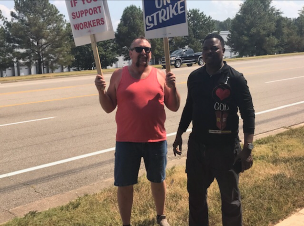Frontrunner District 8 Position 3 Candidate Pastor Gerald Kiner Stands Side By Side With Striking Union Workers While Martavious Jones Nowhere In Sight [By Mark Ingram]